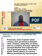 Andrew Mwale, Victim Support Unit, Katete