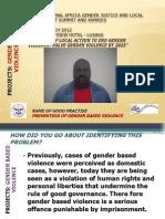 Andrew Mwale, Victim Support Unit, Katete