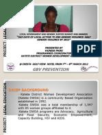 Vainess Phiri, Katete District Women Development Organisation