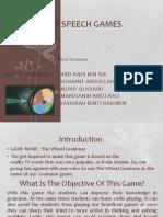 Parts of Speech Games