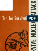 Ten for Survival Survive Nuclear Attack 1959