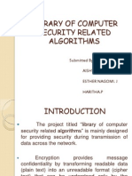 Library of Computer Security Related Algorithms