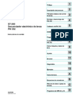 s7300 Fm352 Operating Instructions Es Es-ES