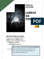GUIA Del La Literatura de TERROR