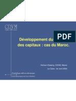 CDVM (Morocco Regulator) Pres