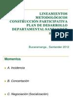 GU+ìA METODOLOGICA PARA LA PARTICIPACI+ôN CIUDADANA