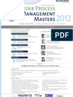 Order Process Managmenent Masters 2012_KGO
