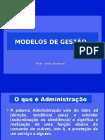 Apostila Modelos de Gestão