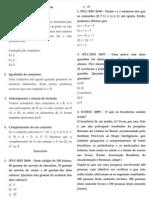 Conjuntos Numéricos - exercícios