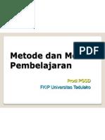 Metode Dan Model Pembelajaran