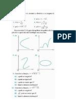 1ª lista de exercícios cálculo 1
