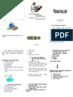 Leaflet Perawatan Luka