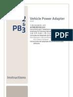 Vehicle Power Adapter