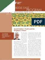 Saudi Arabia's Youth and the Kingdom's Future (Winter 2011)