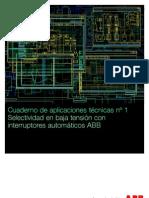 C1 Selectividad de baja tensión con interruptores automáticos