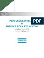 11.0 Surface Percussive Drilling Equipment