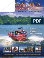Alexandria MN Lakes Area Official 2012 Visitors Guide