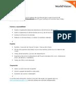 World Vision Perú Facilitador de Ciudadanía-Sistematización