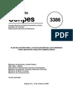CONPES 3386 Oct2005 Focaliz Subsidios Servicios Publicos