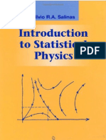 44890050 Introduction to Statistical Physics