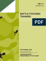 Physical Battle Focused Training