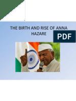 The Birth and Rise of Anna Hazare
