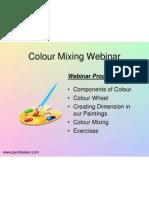Colour Mixing Webinar