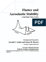 Flutter and Aeroelastic Stability
