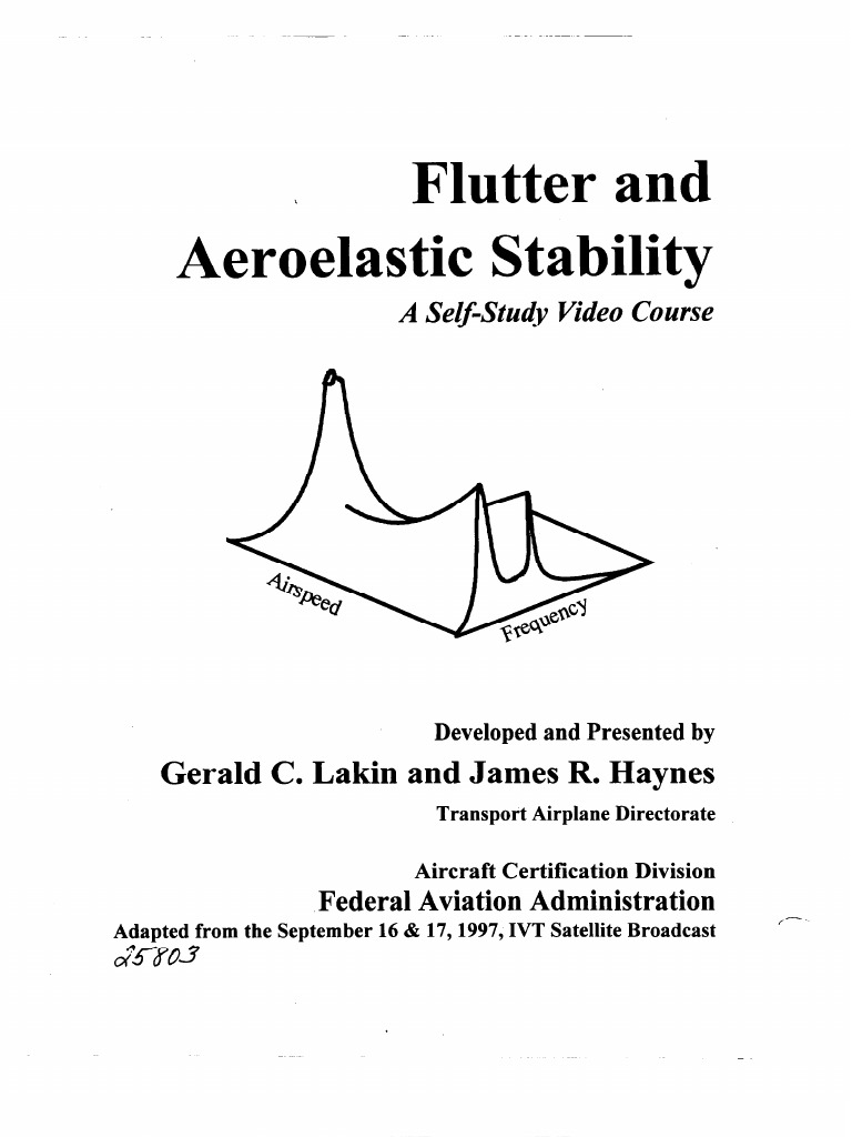 Flutter and Aeroelastic Stability | Flight Instructor