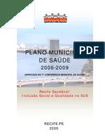 Plano Municipal de Saúde 2006-2009 Recife