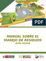 Manual sobre el manejo de Residuos Sólidos