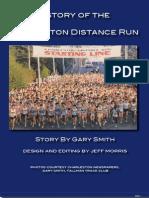 Charleston Distance Run - Charleston, WV 2012 - History Update