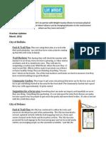Spring 2012 Grantee Updates