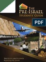 Pre-Israel Guide 2012