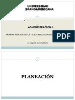 Tema 3 Planeación - Administración Estratégica