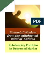 Rebalancing Portfolio in Depressed Market - 0810-008A