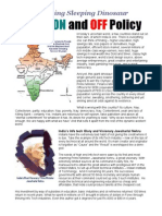 India's Off and on Policies 0810-010A
