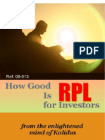 How Good is RPL - 08-013P