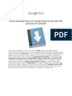 Como Descargar Libros de Google Books 2012