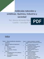 Macromoléculas naturales y sintéticas