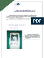 Guia Rápida Generador  Marcapasos 3076