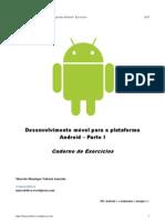 Curso Android - Parte I - Exercicios