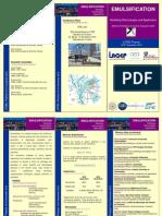Flyer Emulsification - CPE Lyon