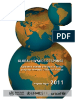 Unaids Progress Report 2011