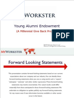 MyWorkster (A Millenial Project)