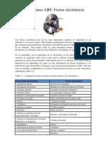 General Ida Des Sistema de Frenos ABS