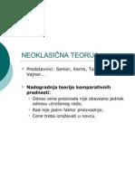 04-Neoklasicna Teorija. Teorija Raspolozivosti Faktora