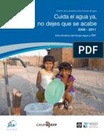 Informe Campaña Cuida el Agua Ya - 18 Marzo -FINAL