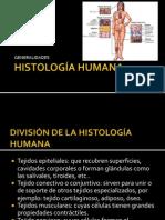 HISTOLOGÍA HUMANA - TEJIDO EPITELIAL