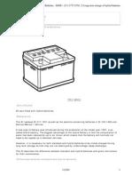 Saab93Long Term Storage of Hybrid Batteries